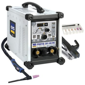 GYS ProTIG 201 AC/DC TIG Welding Machine with Torch & Accessories Gallery Image 0