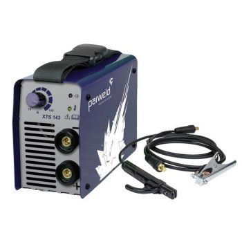 Parweld XTS143 XTS 143 140A MMA Inverter Welder 230v With Arc Leads Gallery Image 1