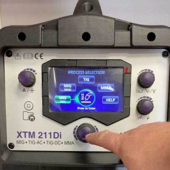 Parweld Xtm211Di-P2 4 In 1 Ac/Dc Package Inc 4M Tig & Mig Torch & Mma Leads Gallery Image 1