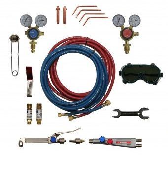 Portable Gas Welding / Cutting Kit Gallery Image 0