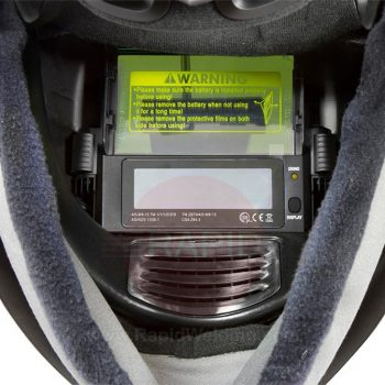 ESAB Sentinel A50 for Air Weld & Grinding Helmet with Shade 5-13 Auto Darkening Gallery Image 1